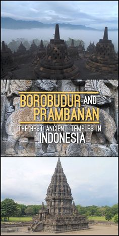 Tips for visiting Borobudur and Prambanan, the best ancient temples in Indonesia. These temples, one Buddhist and one Hindu, are found near Jogjakarta, Central Java.