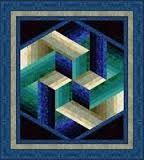 Resultado de imagem para 3d patchwork blocks