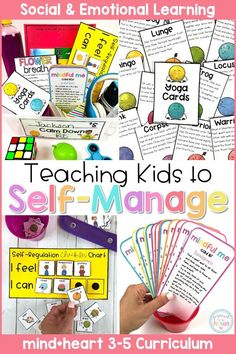 Teach kids to self-m