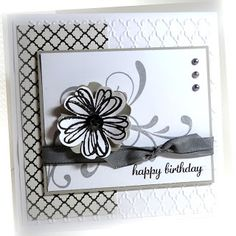 Me, My Stamps and I: Stampin' Up! Birthday Flower Shop