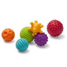 AmazonSmile : Infantino Textured Multi Ball Set : Baby Touch And Feel Toys : Baby