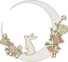 bunny moon tattoo - Google Search