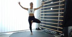 Yoga-Übungen für Zuhause: 10 Stellungen für Einsteiger Qigong, Yoga Fitness, Pilates, Meditation, Sporty, Training, Greta, Women, Workouts