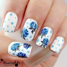 Draw inspiration from nature - top 55 spring floral nail art ideas. Discover gorgeous nail art designs perfect for any occasion Nail Art Designs, Flower Nail Designs, Nails Design, Floral Nail Art, Pink Nail Art, Lily Nails, Halloween Acrylic Nails, Polka Dot Nails, Polka Dots