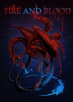 House Targaryen by Alaiaorax.deviantart.com on @DeviantArt