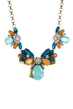 Luxe Blue Lagoon Necklace