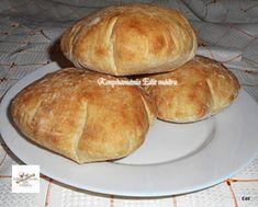 Pita házilag, jól sikerült, próbáljátok ki ti is! Ring Cake, Taco Pizza, Scones, Hamburger, Cupcake, Bacon, Bread, Breakfast, Recipes