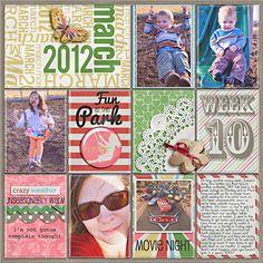 Project Life - Week 10 Right - Scrapbook.com