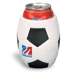 Soccer Can Cooler from www.schoolspiritstore.com