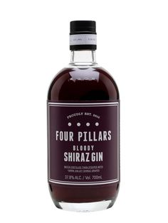 Four Pillars Bloody Shiraz Gin : Buy from The Whisky Exchange