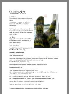 Drops Design, Leg Warmers, Skor, Socks, Knitting, Knits, Pattern, Threading, Leg Warmers Outfit