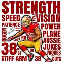 nfl San Francisco 49ers Jarryd Hayne LIMITED Jerseys