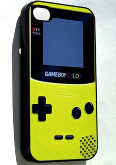 Gameboy Color     iphone 4 case iphone case by ExpressoPrint