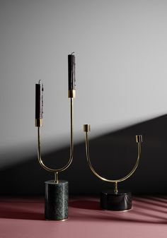 GRASIL – basic, stunning beauty. With a solid marble base and exquisite brass details, the Grasil candleholders provide a unique look and overwhelming elegance. The natural variations in marble are a wonderful base for home interiors and autumn evenings will be beautifully lit with these candleholders.