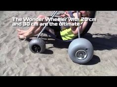 Wonder Wheeler Beach Carts and conversion kits- from Wheeleez, Inc.