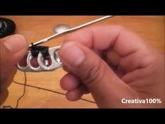 Puntadas de Crochet en anillas
