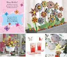 Love the cookie centerpiece! Baby First Birthday, 4th Birthday, Birthday Parties, Birthday Party Images, Birthday Ideas, Fairy Tea Parties, Garden Parties, Butterfly Birthday Party, Party Gifts