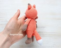 Free Cuddle Me Fox Crochet Pattern