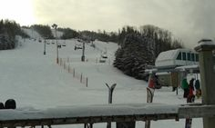 Mont Lac-Vert, Hébertville, Québec, décembre 2013 2013, Photos, Canada, Snow, France, Country, Places, Outdoor, Green