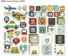 Our new Travel SN@P! Set - Squares & Pieces