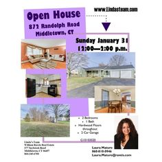 home Open House Sunday January 31, 2016 12:00 - 2:00 872 Randolph Road Middletown, CT... Check more at http://homesnips.com/snip/open-house-sunday-january-31-2016-1200-200872-randolph-road-middletown-ct/