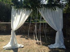 #wedding #rural #altar #bodacivil #handmade