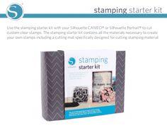 Silhouette Stamp kit. Use code: CRAFT to save! http://www.silhouetteamerica.com/stamping?mid=Jyj6MuLA5ZaCyl8JjCD8LU7uPfKmigVx