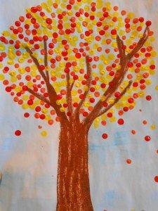 Herbstbaum http://primimaus.wordpress.com/2014/08/01/kunst-1-klasse/