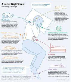 Schlafpositionen, die bei körperlichen Beschwerden helfen | BRIGITTE.de