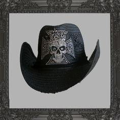 Ashley Purdy Iron Cross cowboy hat. www.AshleyPurdy.com Band Outfits f2ada358d20a