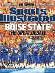 Boise State Football on the cover of Sports Illustrated........Again