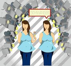 Eine Frau, die keinen Alkohol trinkt, ist automatisch schwanger. Oder etwa nicht?