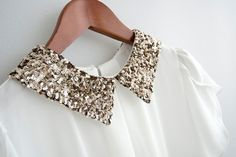 Sparkly collar :)