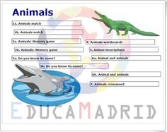 "Unidad 4 de Natural Science de 5º de Primaria: ""Animals"" Game 4, Memory Games, Science And Nature, Did You Know, Knowing You, Editorial, Memories, Natural, Teaching Resources"