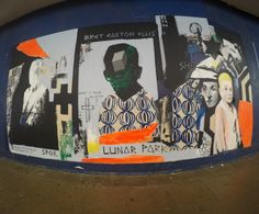 'Bret Easton Ellis' mural, St. George's Walk, Croydon. Thanks to Rise Gallery