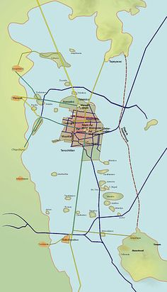 Tenochtitlan - Aztèques — Wikipédia