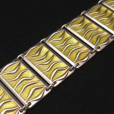 David Andersen Bracelet Vintage Enamel Sterling Silver