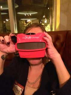 Highball Lounge - Old school ViewMaster Menu! - Boston, MA, United States