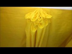 """'' Different Design in Table Skirting"""" Make A Table, Smocking, Diy And Crafts, Backdrops, Centerpieces, Projects To Try, Wedding Decorations, Table Settings, Presentation"""