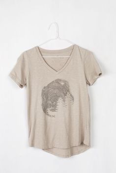 Womens Gorham Cut Tee | United By Blue; in berry, size small, $36 ***