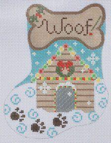 Dog Christmas Stocking, Cross Stitch Christmas Stockings, Cross Stitch Stocking, Christmas Cross, Xmas, Needlepoint Stockings, Needlepoint Patterns, Perler Patterns, Crochet Patterns