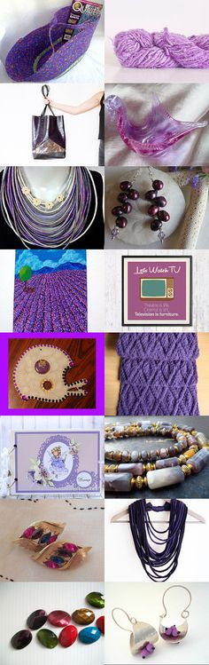 Purple for Mom's Day by Dennis and Kay on Etsy-- #etsy #treasury #basket #purple #wexfordtreasures #mosesbasket #spring Pinned with TreasuryPin.com