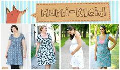 Schöne, einfache Anleitung (inkl. Schnittmuster zum Ausdrucken) zum Herstellen eines besonderen Kleides! Dieses Kleid wurde speziell für stillende Mütter konzipiert. Es ist kann natürlich auch...