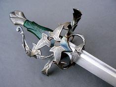 Christian Fletcher Custom Swords & Scabbards: The Elven Saber (Lundemo Blade)