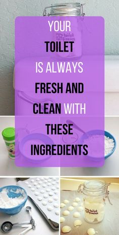 The Toilet Is Always Fresh and Clean with These Ingredients