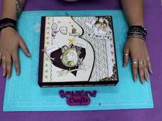 Albumla ilusion de la espera Bellaluna Crafts Video de Presentación - YouTube Album Scrapbook, Videos, Projects To Try, Baby Shower, Frame, Books, Pictures, Crafts, Youtube