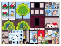 The great Chris Ware, killing it, as usual.