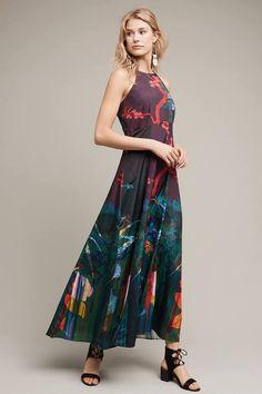 Moulinette Soeurs Cadence Printed Maxi Dress