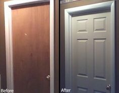 DIY: Here is a great article with advice on how to upgrade your home's interior doors by yourself. An inexpensive way to update the look of an older home!