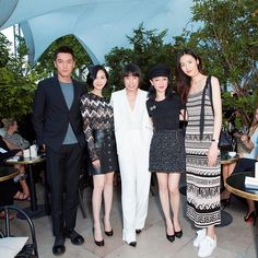 #CoutureWeek #AngelicaCheung with #ZhouXun #HuGe #LiuShishj and #LiuWen at the new perfume of Chanel  Gabrielle's launch. @angelica_cheung @liuwenlw @huodan #高定周 #张宇 与#周迅#胡歌#刘诗诗 和#刘雯 在香奈儿新香水  Gabrielle的发布派对  via VOGUE CHINA MAGAZINE OFFICIAL INSTAGRAM - Fashion Campaigns  Haute Couture  Advertising  Editorial Photography  Magazine Cover Designs  Supermodels  Runway Models
